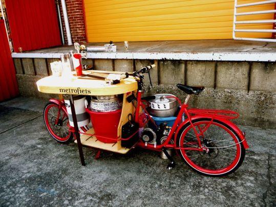 metrofiets ecospeed electric beer bike