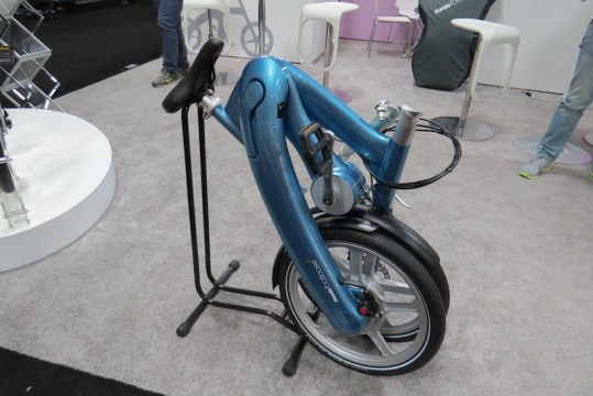 mando footloose electric bike folded