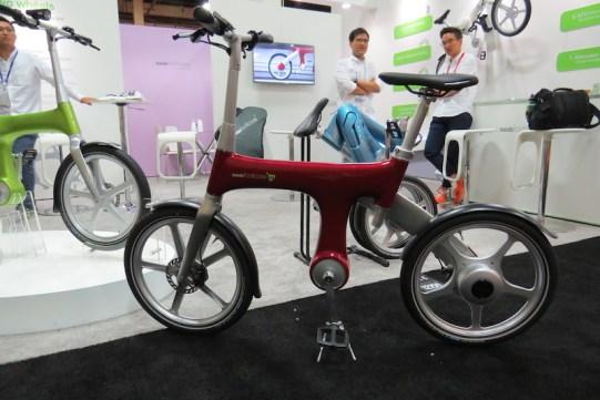 mando footloose electric bike red