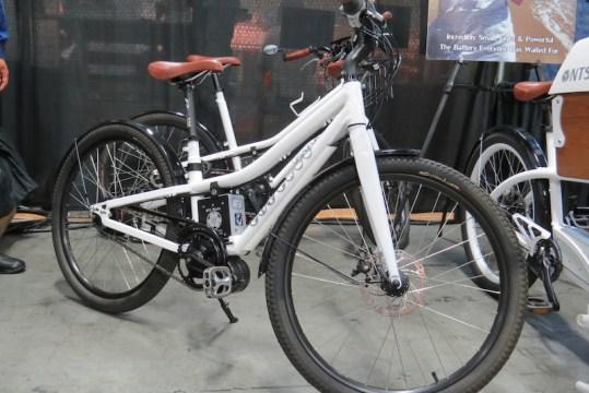 nts fat free electric bike