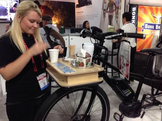 xtracycle bosh edgerunner electric cargo bike coffee supplies