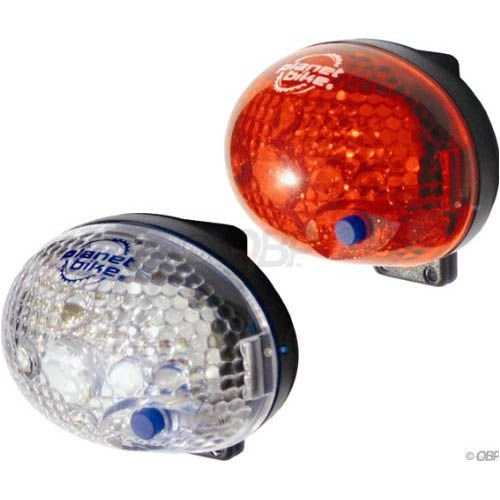 planet bike front rear led lights