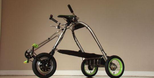 Trikart electric cargo trike