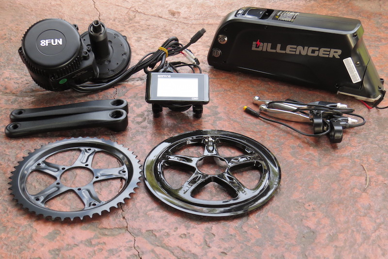 Dillenger Bafang Mid Drive Electric Bike Kit Review Part 1