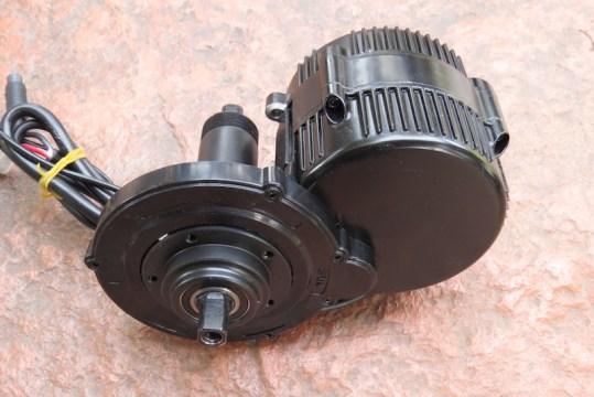 Dillenger Bafang motor side