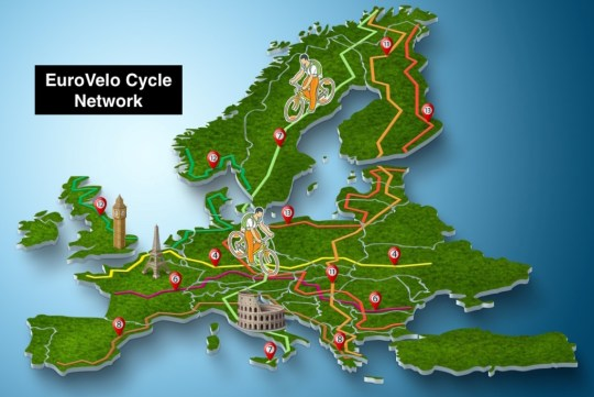 EuroVelo Cycle Route