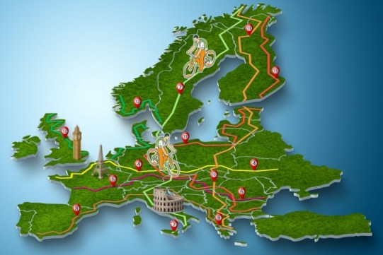 eurovelo Europe graphic cropped
