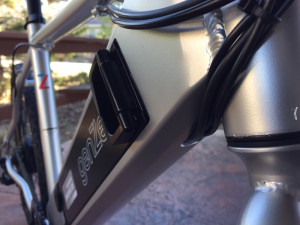GenZe Sport electric bike cable routing