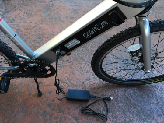 GenZe Sport electric bike charger
