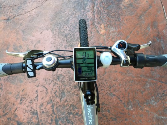 GenZe Sport electric bike handlebar