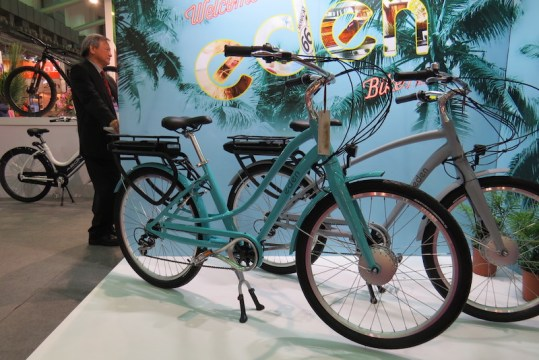 eden electric bike