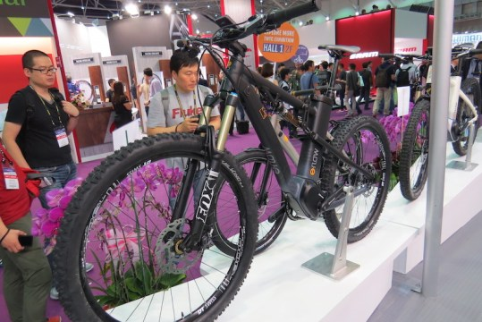 eflow full suspension continental mid drive electric bike