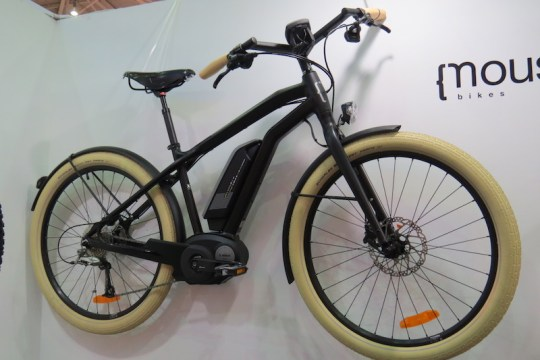 moustache electric bike cruiser