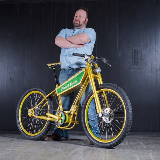 peacock groove electric bike builder