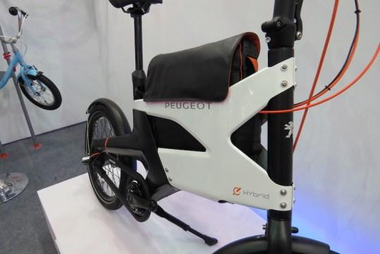 peugot electric bike briefcase