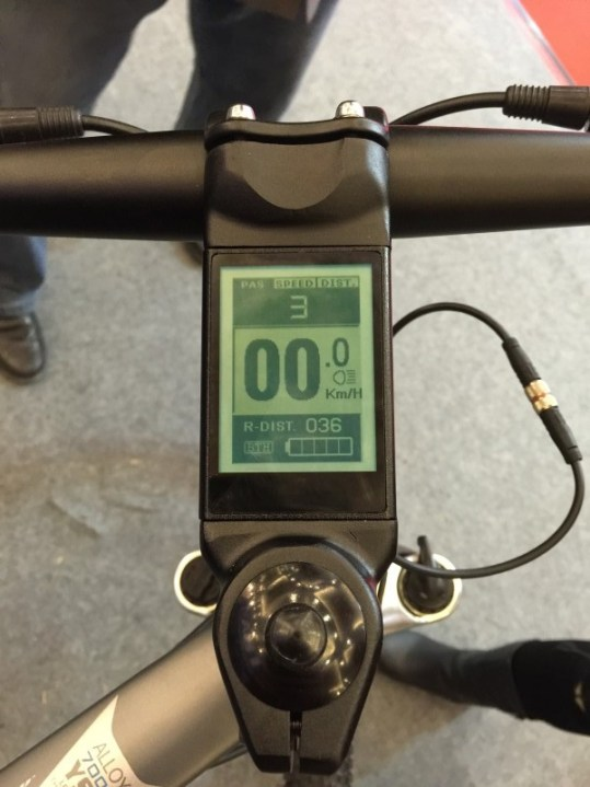 King Meter stem display.