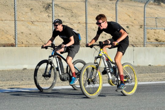 Sea Otter electric bike racing