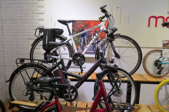 giant bicycles ebikes