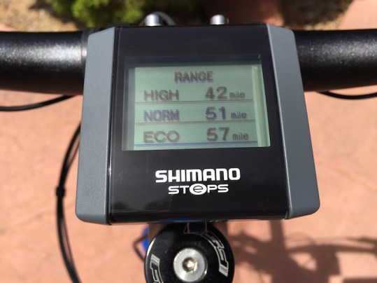 raleigh misceo electric display range