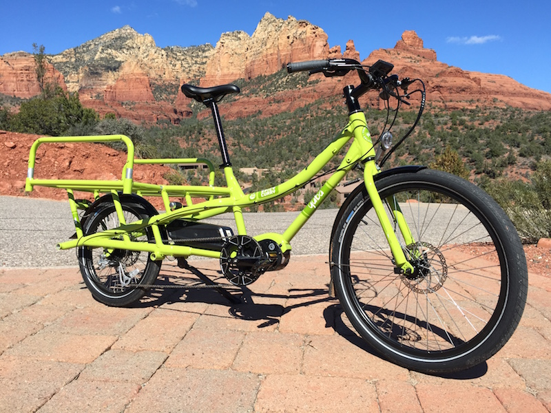 New Yuba Spicy Curry Mid Drive Electric Cargo Bike Video