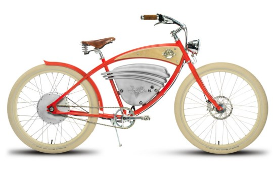 Vintage Cruz electric bike