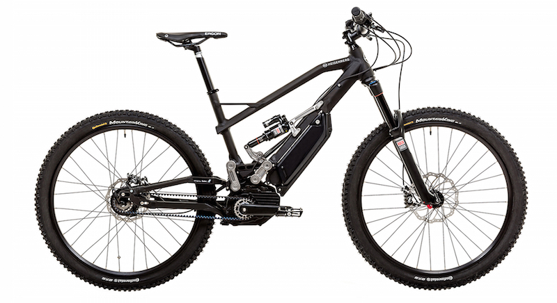 Heisenberg electric mountain bike