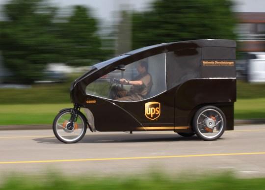 UPS electric cargo trike