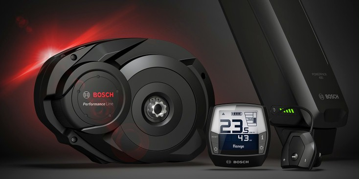 Bosch mid drive system