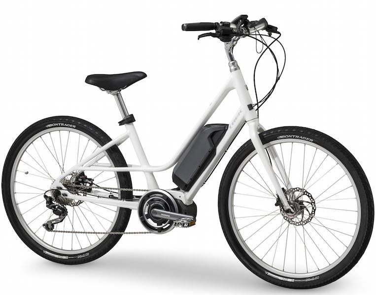 Trek Lift step thru electric bike