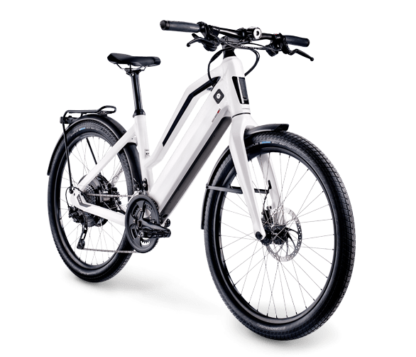 The Stromer ST2 with low step frame.