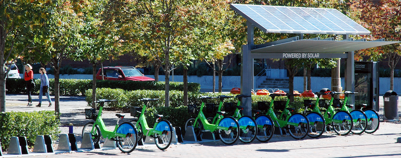 Birmingham electric bike share