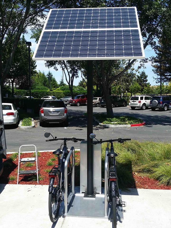 swiftmile solar powered electric bike rental stations. Black Bedroom Furniture Sets. Home Design Ideas