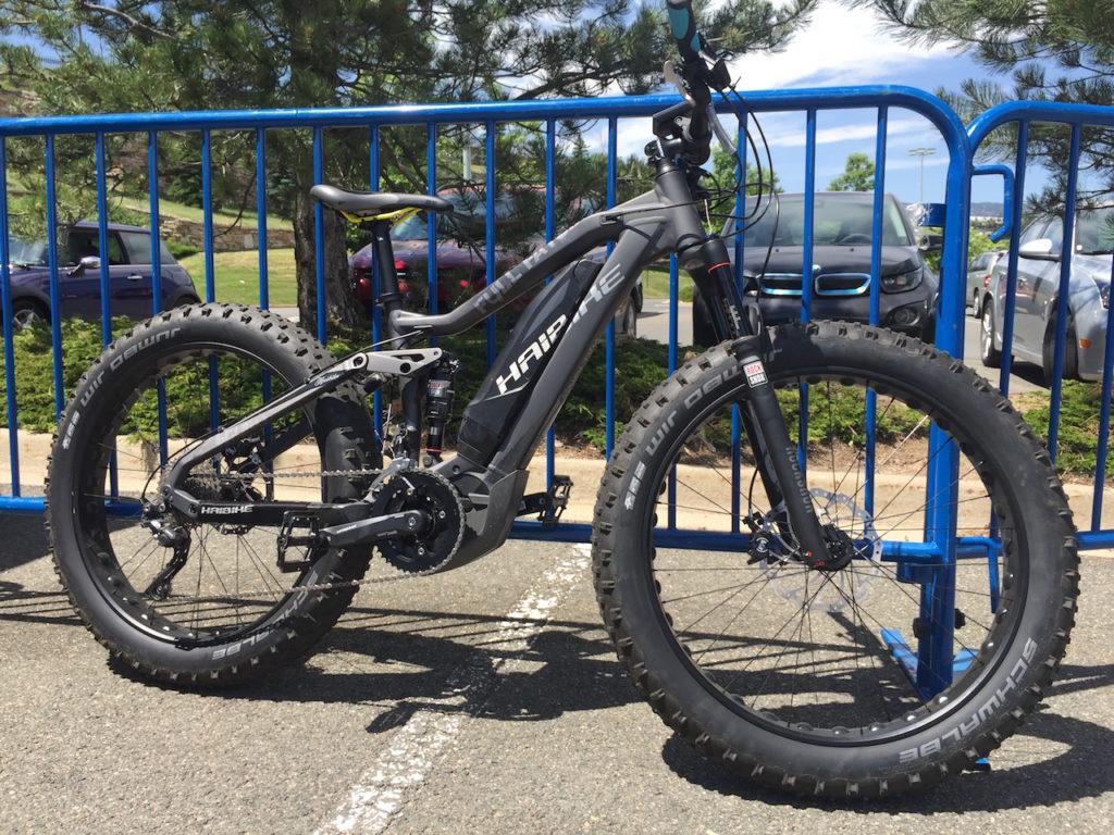 Haibike Full Fat Six electric bike
