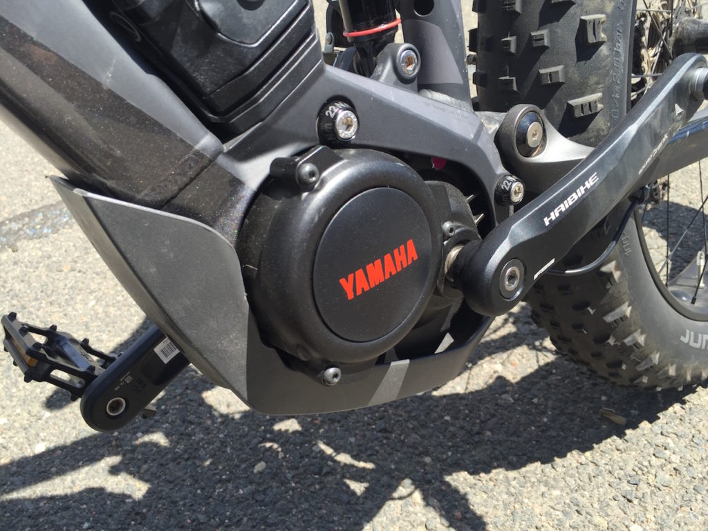 Haibike Full Fat Six electric bike yamaha motor