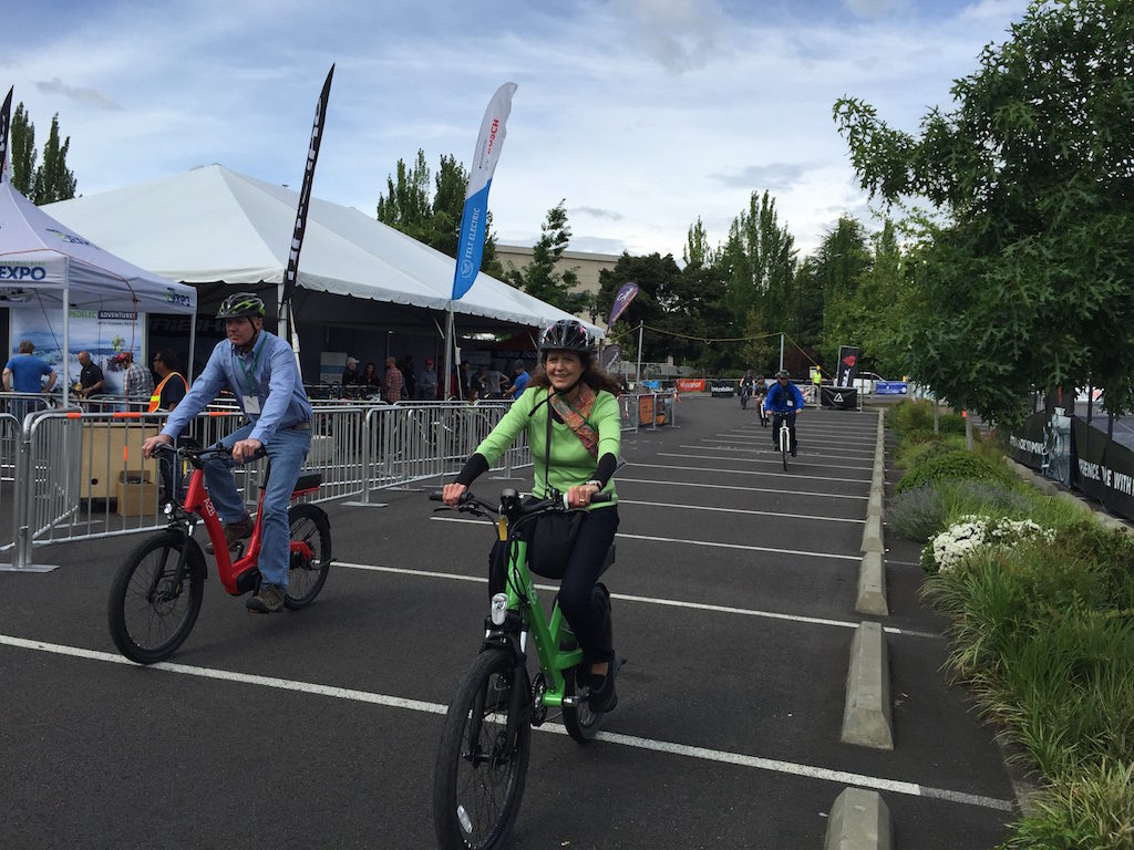 Portland Electric Bike Expo 10