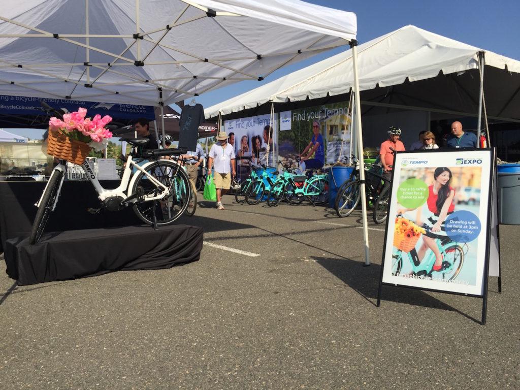 Tempo electric bike raffle denver electric bike expo