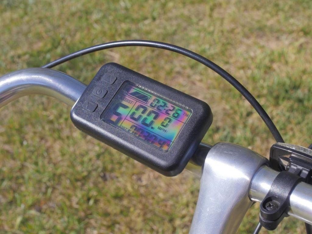 Leed 500 watt electric bike kit review display