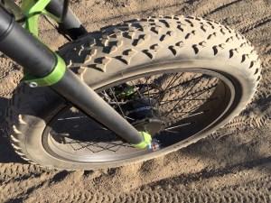 prodecotech rebel x9 electric fat bike front tire