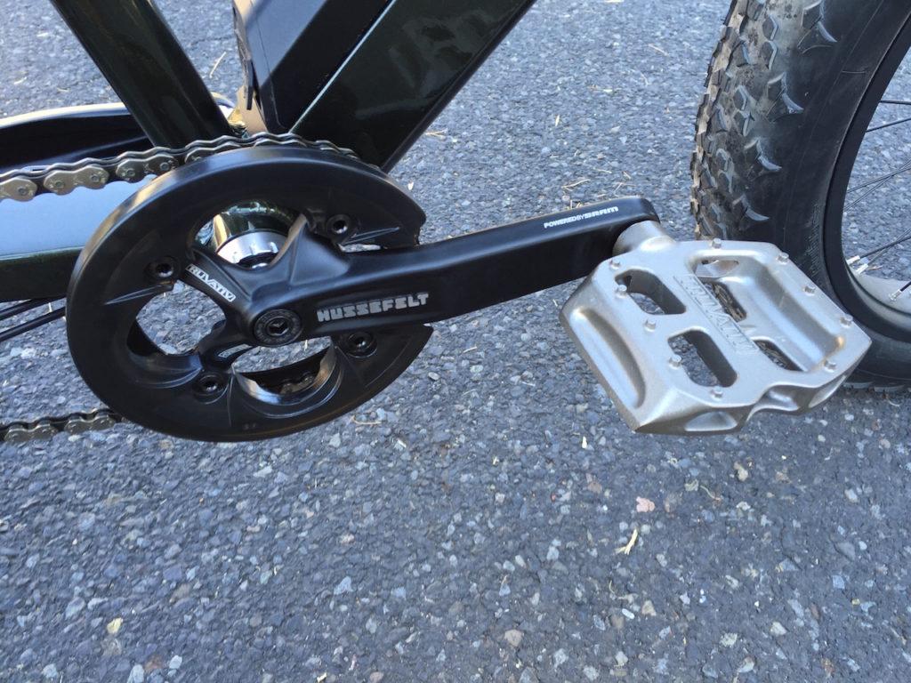 prodecotech rebel x9 hussefelt cranks pedals
