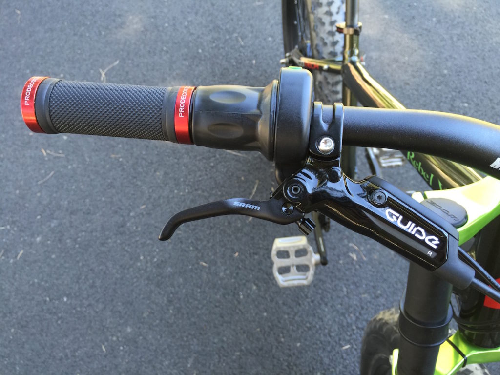 prodecotech rebel x9 sram guide brake lever