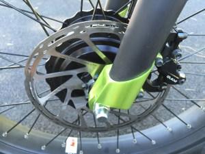 prodecotech rebel x9 sram guide front disc brake