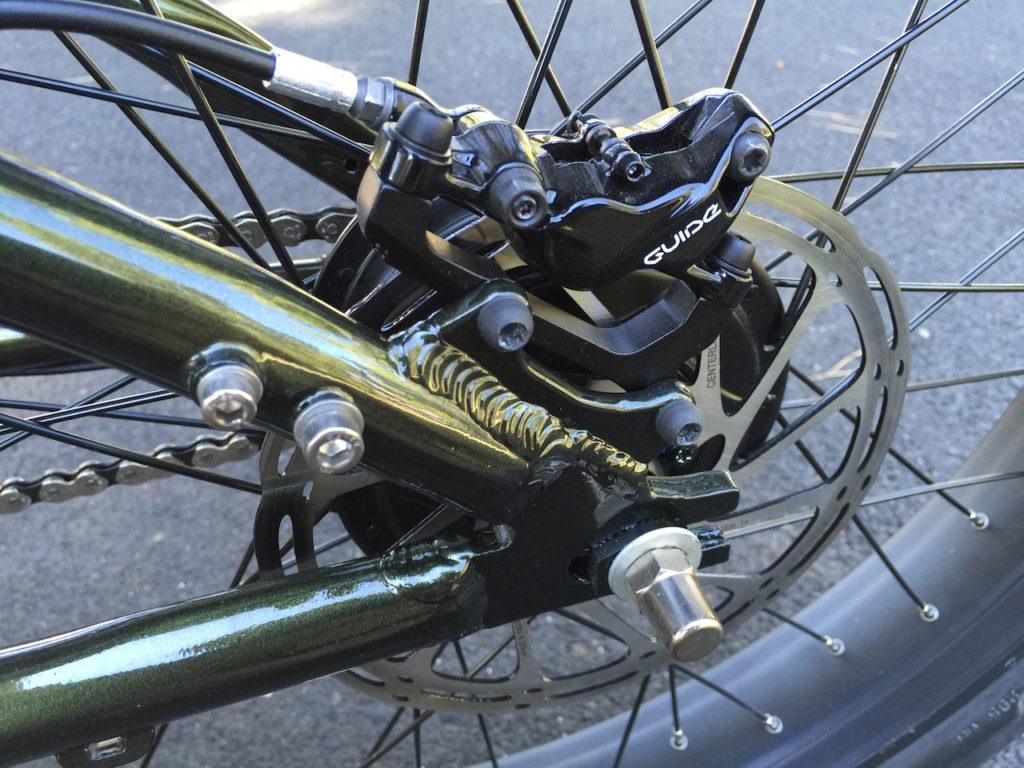 prodecotech rebel x9 sram guide rear disc brake