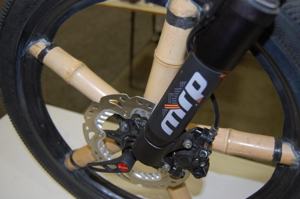 Calfee bamboo electric bike 3