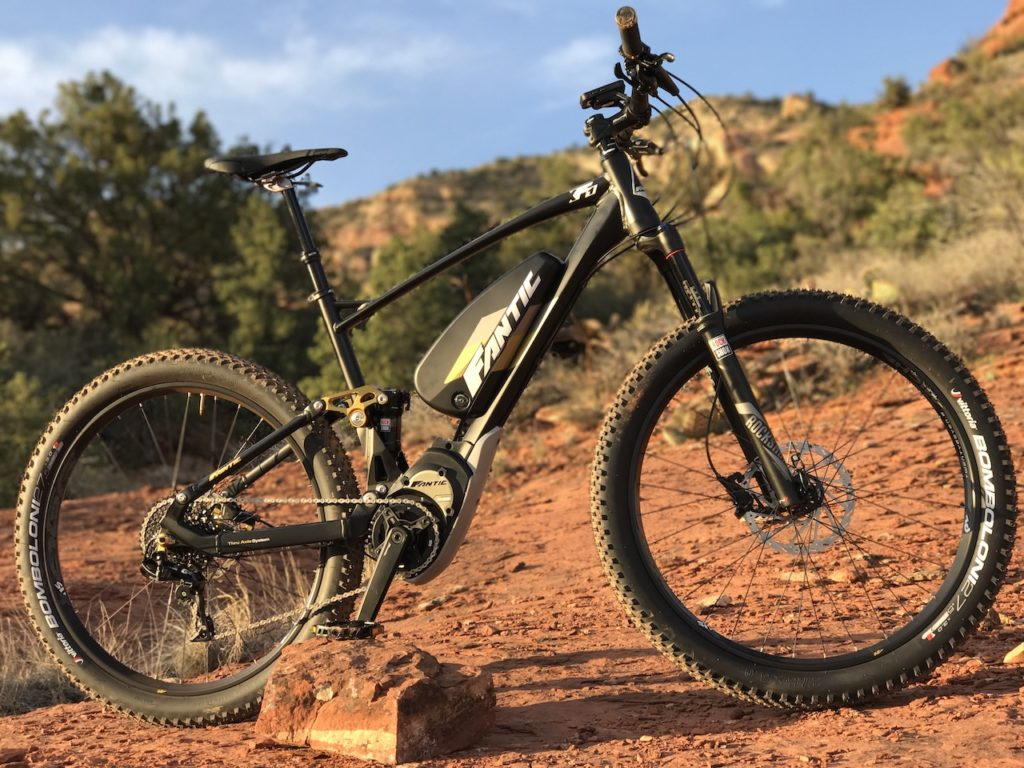 Fantic XF1 Casa electric mountain bike 11