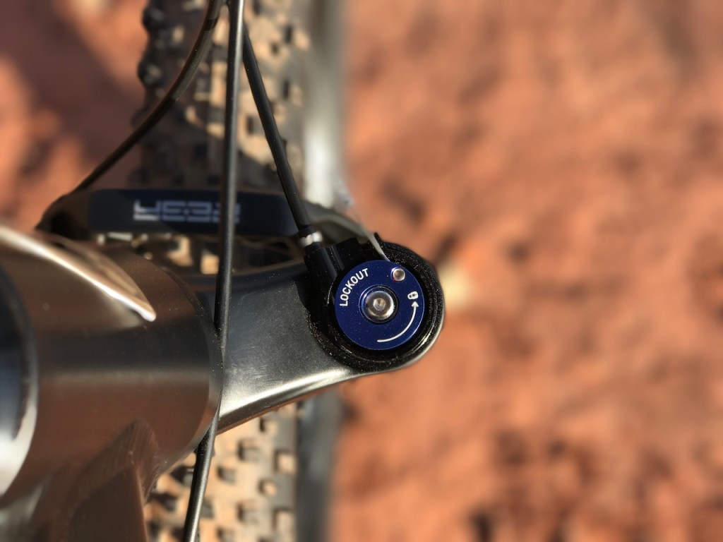 Fantic XF1 Casa electric mountain bike lockout