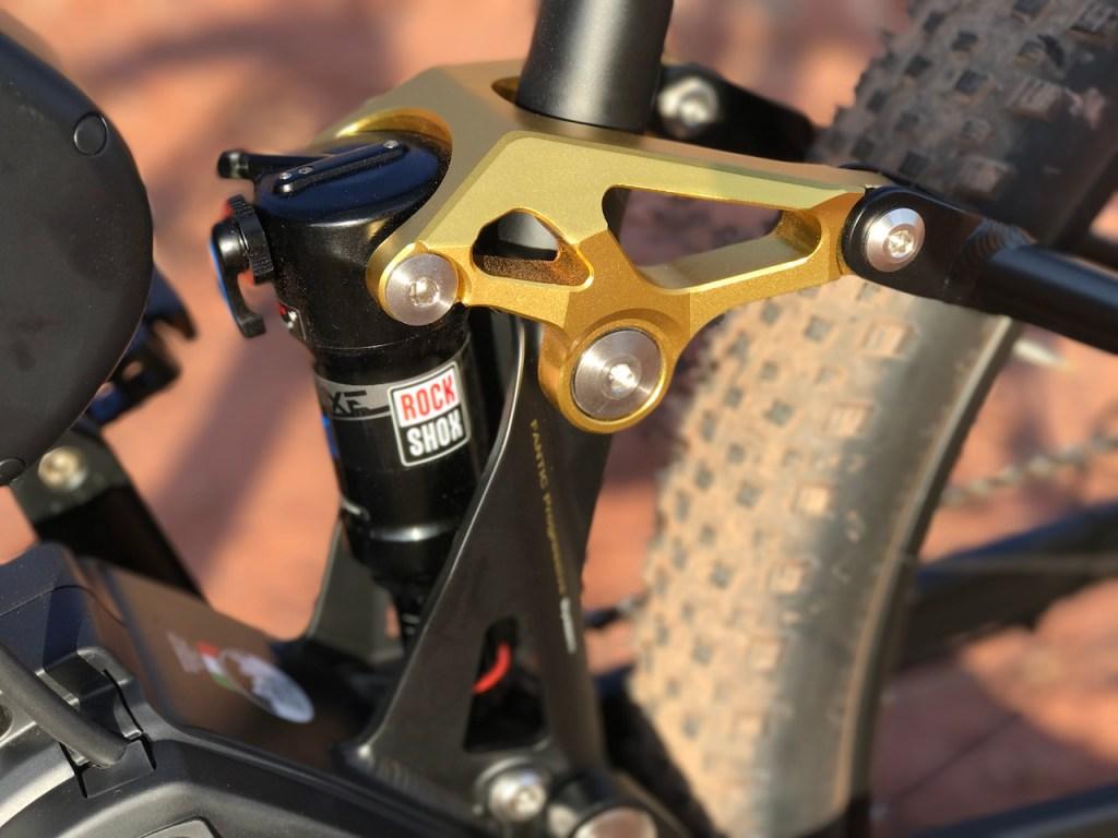 Fantic XF1 Casa electric mountain bike suspension