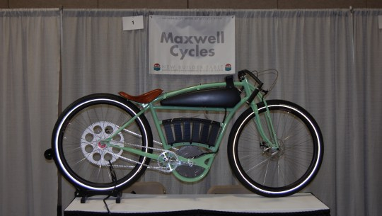 Wild & Crazy Custom Electric Bikes at the N.A. Handmade Bike Show [VIDEO]