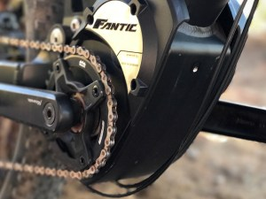 Fantic XF1 Casa electric mountain bike Brose motor mount