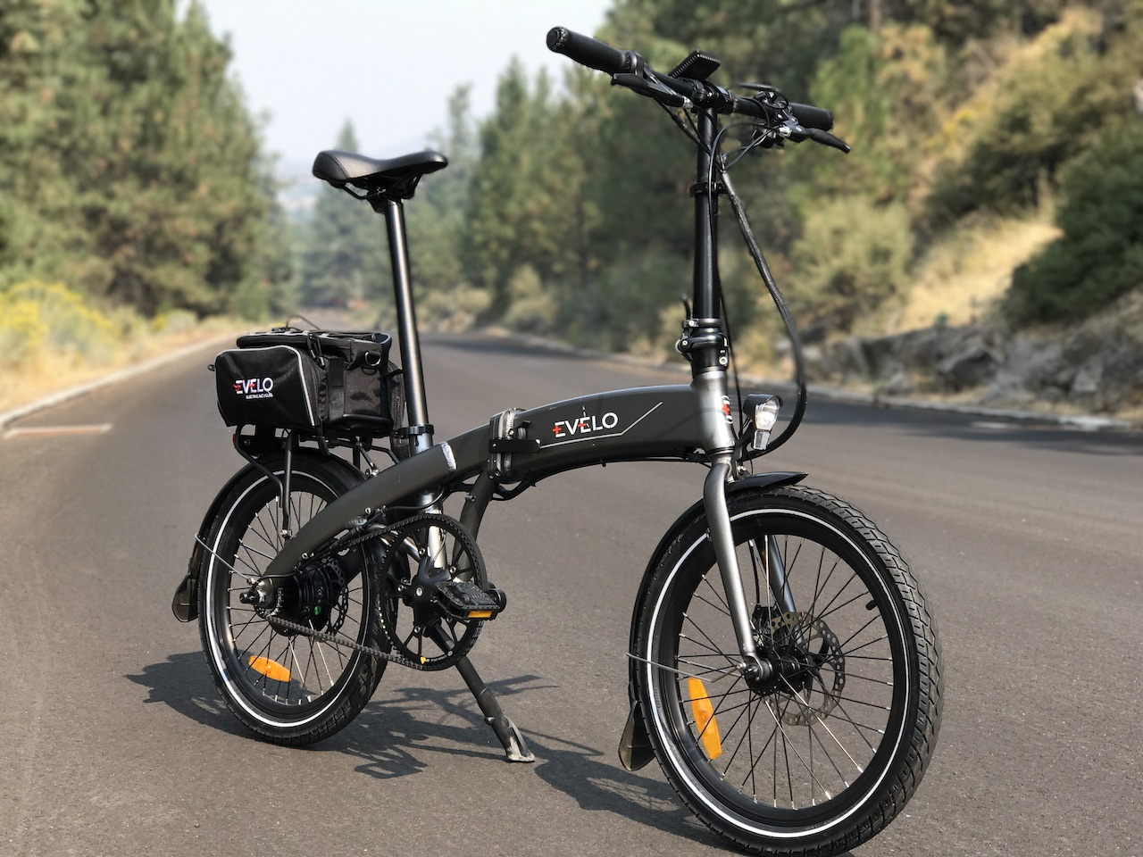 EVELO Quest One Folding Electric Bike Review Part 1