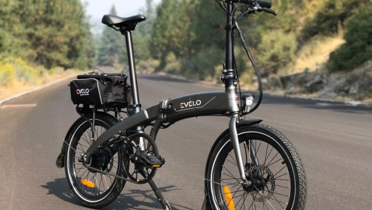 EVELO Quest One Folding Electric Bike Review Part 1 – Pictures & Specs